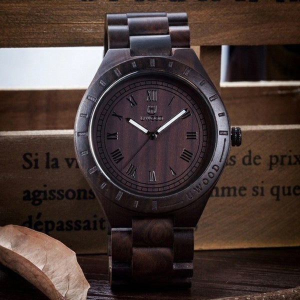 Casual Watch - UWOOD Unique Style Modern Luxury Wooden Quartz Watch