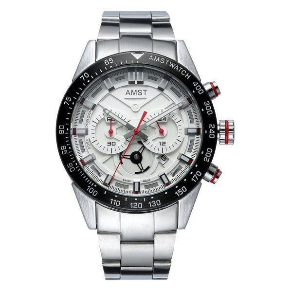 Elite Watch - AMST Luxury Chronograph Quartz Casual Watch