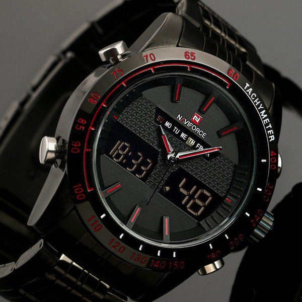 Elite Watch - Naviforce Luxury Full Steel Watch