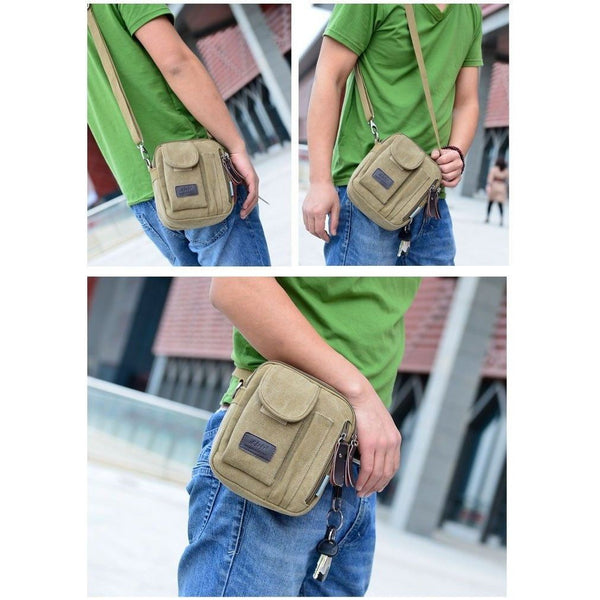 Messenger Bag - Crossbody Casual Multifunctional Messenger Shoulder Bag Satchel