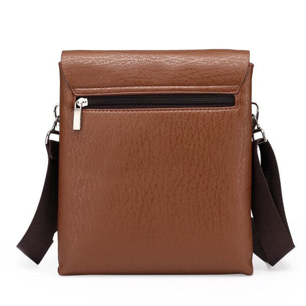 Messenger Bag - Leather Shoulder Satchel Messenger Hand Bag
