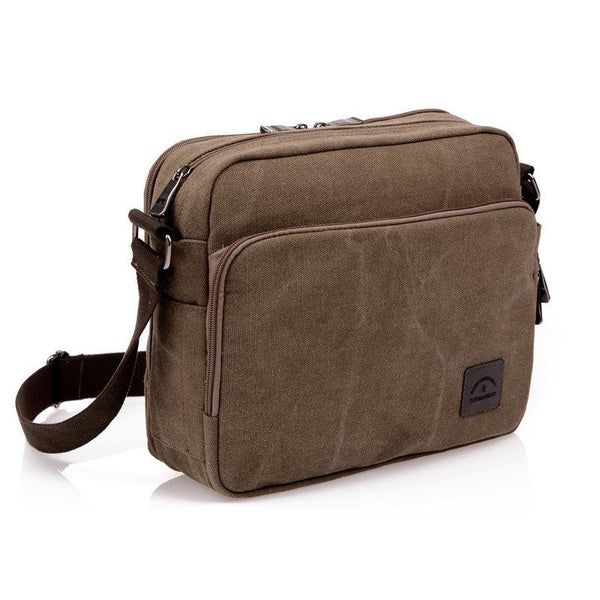 Messenger Bag - Luxury Canvas Casual Travel Crossbody Messenger Bag