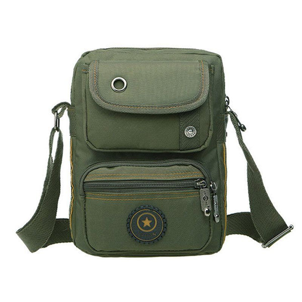 Messenger Bag - Oxford Canvas Casual Multifunctional Men's Shoulder Messenger Bag