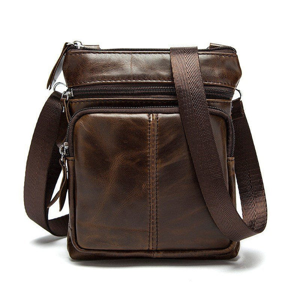 Messenger Bag - Vogue Business Messenger Genuine Leather Bag