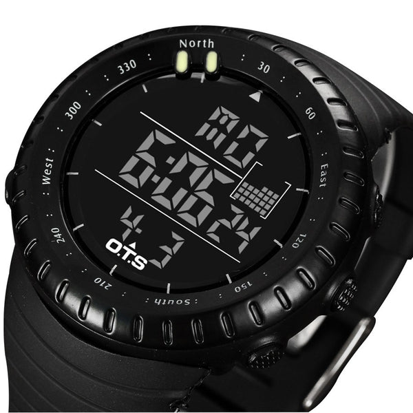 OTS Tough 5ATM Digital Sports Watch