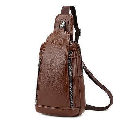 Single Shoulder Strap Crossbody Vintage Style Messenger Bag With Optional Wallet