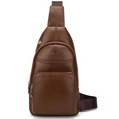 Single Strap Crossbody Leather Travel Shoulder Bag