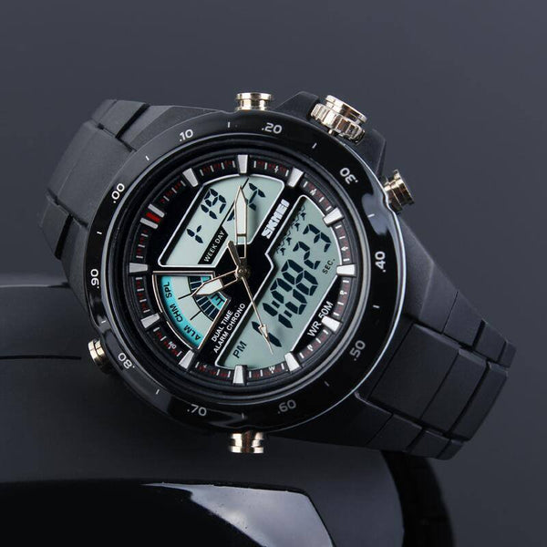 SKMEI Ultra Stylish 50m Casual Digital and Analog Casual Watch