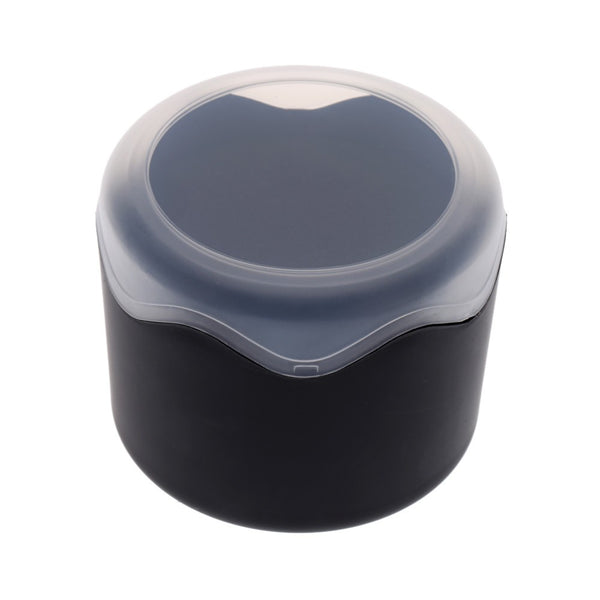 Round Plastic Single Watch Box Case with Sponge Cushion
