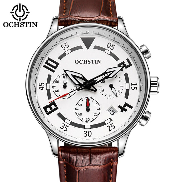 Ochstin Ultra Elite Luxury Chronograph Quartz Watch with Subdials