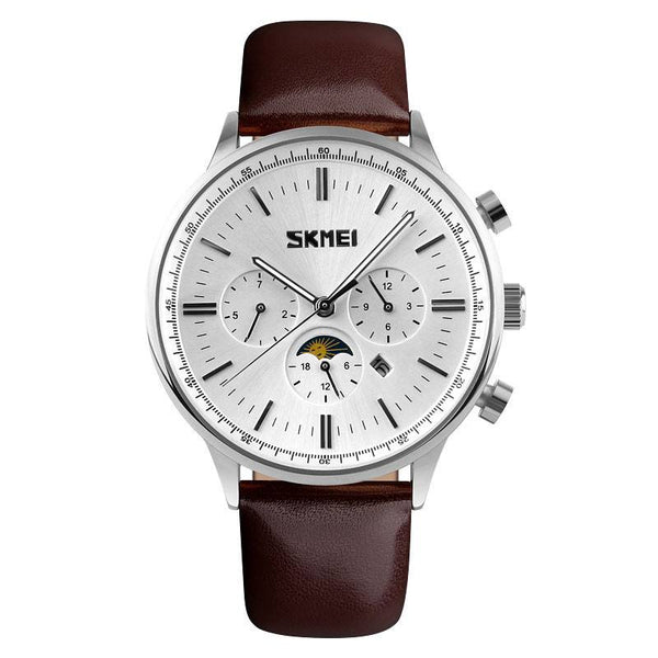 SKMEI Luxury Business 3ATM Water Resistant Business Watch