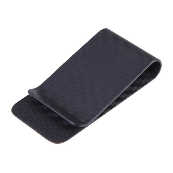 Carbon Fiber Polished Matte Business Card Money Clip