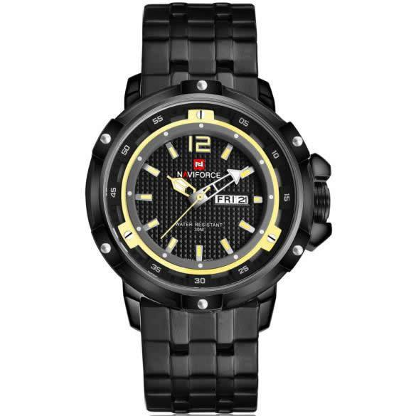 NAVIFORCE Luxury Stainless Steel Wrist Watch