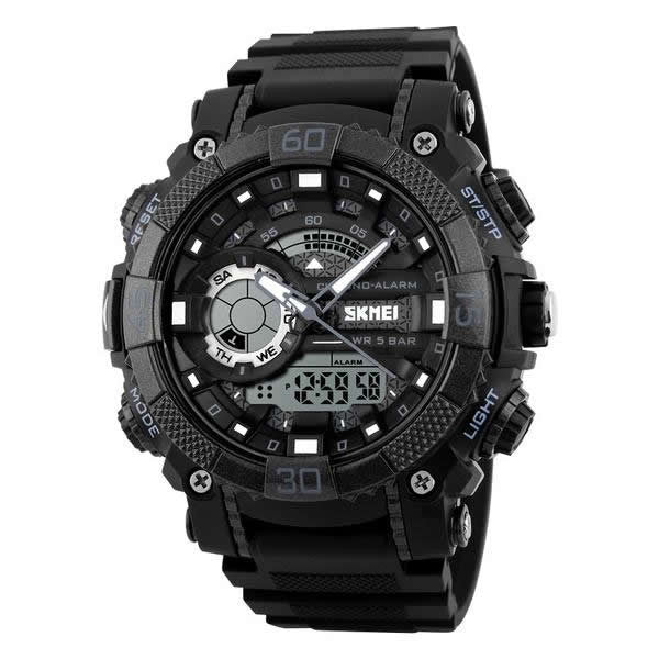 SKMEI The BlackJack Ultra Rugged Digital Quartz 50M Sports Watch