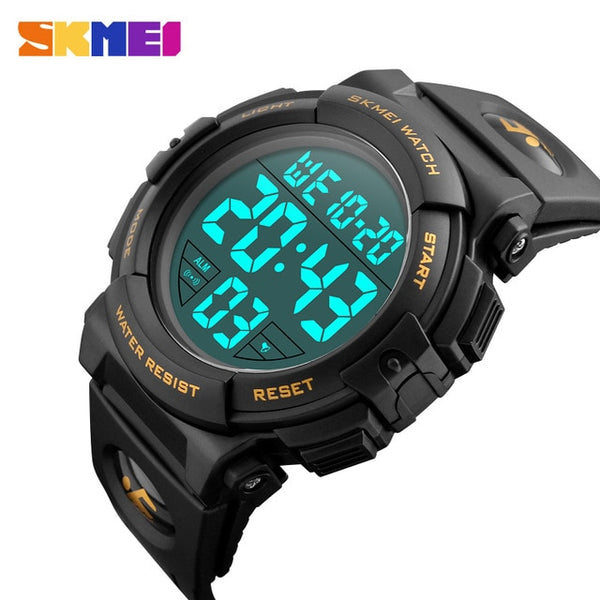 Digital Display Military Mens Watch