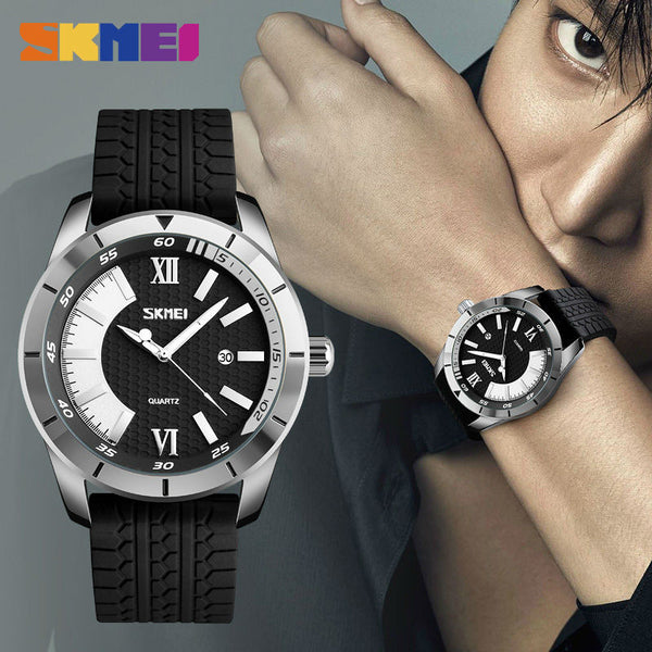 SKMEI Silicone Strap Fashion Sports Watch