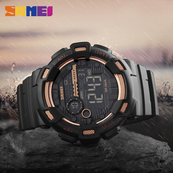 SKMEI Renegade 50M Backlight Chronograph Shock Sports Watch