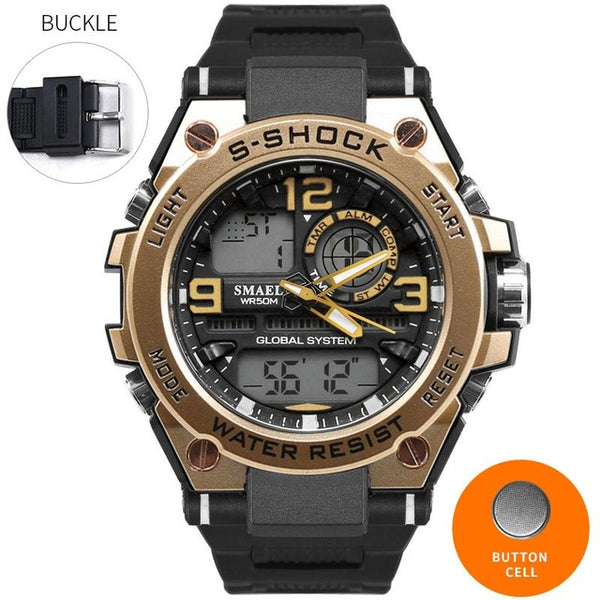 SMAEL Luxury Men's Wrist Watch