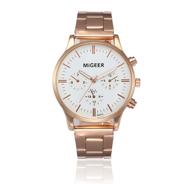 *New* Stainless Steel MiGeer Business Watch