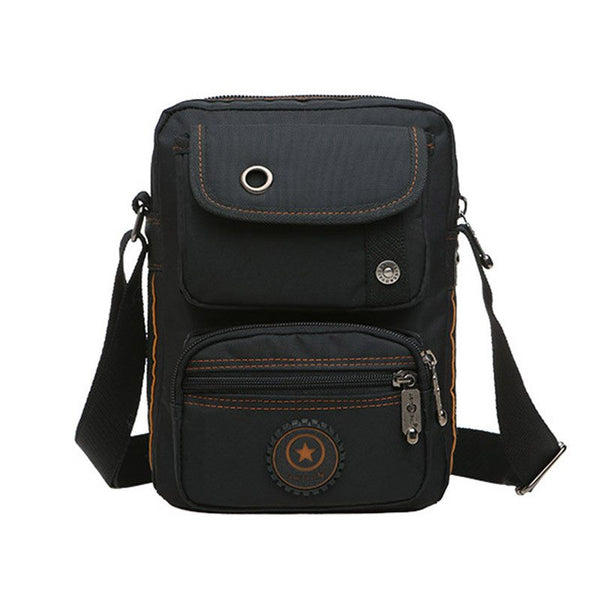 Oxford Canvas Casual Multifunctional Men's Shoulder Messenger Bag
