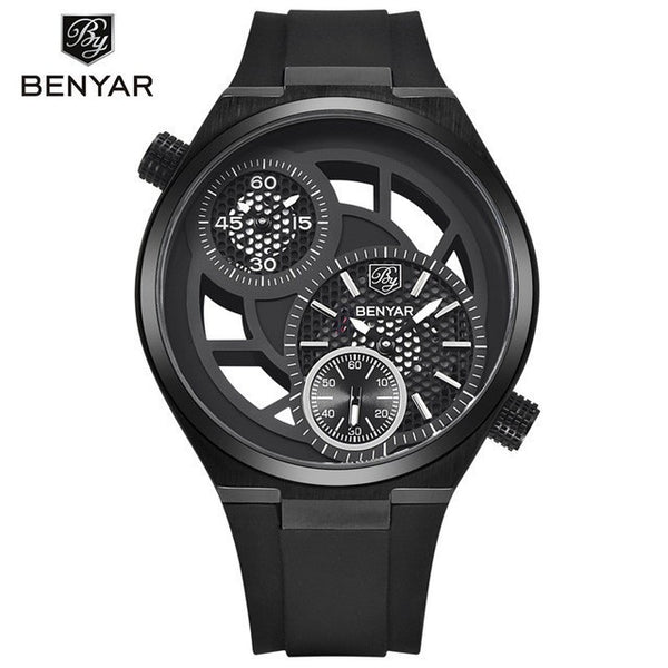 Sport Watch - Benyar Hollow Big Dial Design Sports Watch