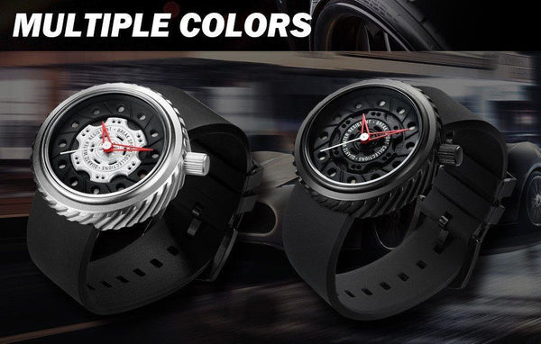 Sport Watch - BREAK Luxury Crazy Speed Rubber Strap Sports Watch