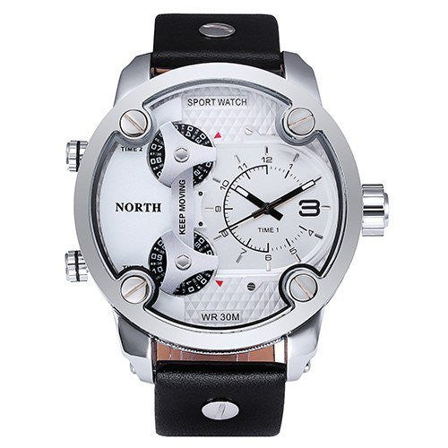 Sport Watch - North Men's Military Tough 3 Dial Sport Watch