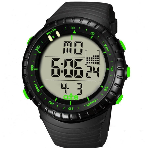 Sport Watch - OTS Tough 5ATM Digital Sports Watch