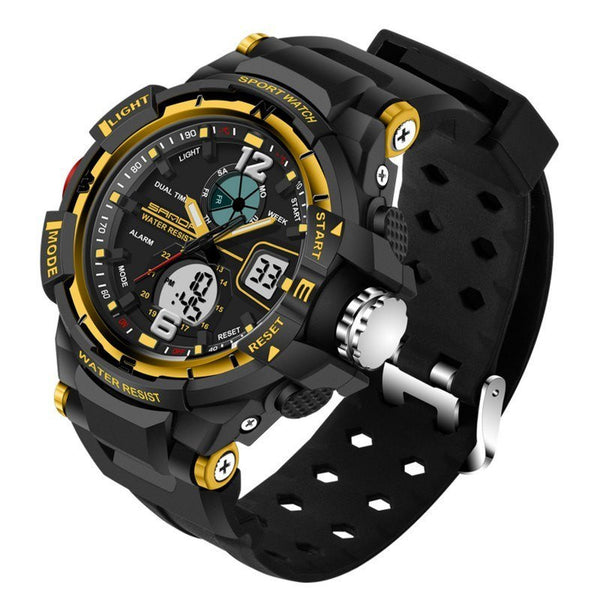 Sport Watch - SANDA Dual Display Men's Sport Watch