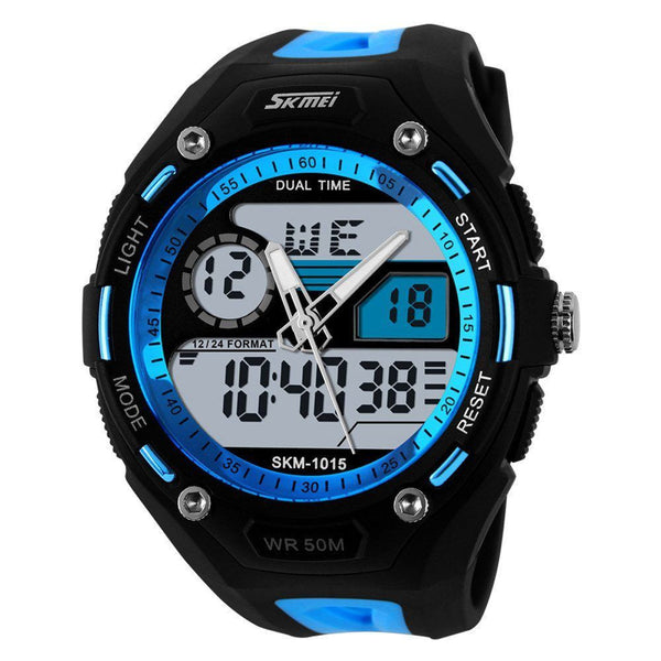 Sport Watch - SKMEI Digital And Analog Military 5ATM Shock Sports Watch