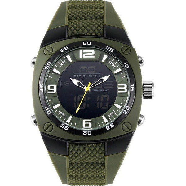 Sport Watch - Smael Silicone Strap Military Army Sports Wrist Watch