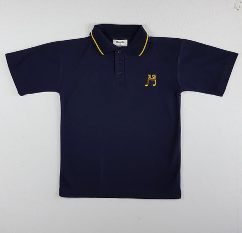 Music Navy Polo