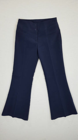 Girls Slacks Navy