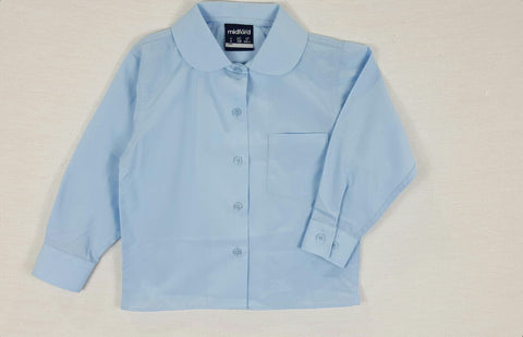 85b37d1d147c48 Long Sleeve Sky Blue Blouse – Berelle School Wear