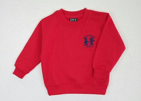 Fleecy Jumper Red