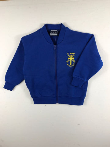 Fleecy Royal Blue Sports Jacket