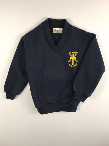 Fleecy Jumper Navy