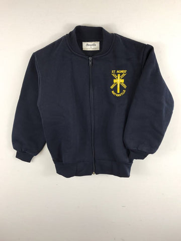 Fleecy Jacket Navy