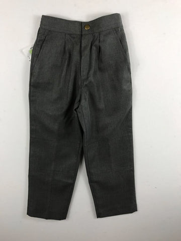 1/2 Elastic Melange Grey Pants