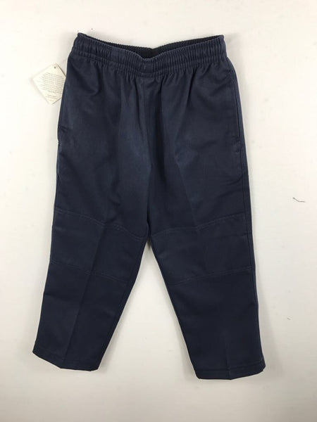 Double Knee Navy Trousers