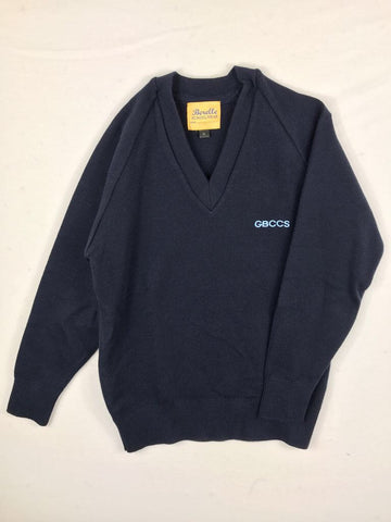 Woollen Navy Jumper