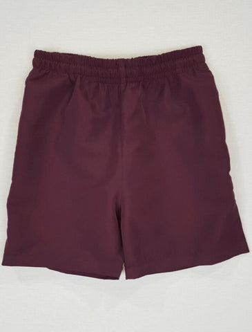 Sports Maroon Shorts