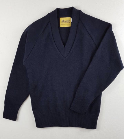 Navy Woollen Jumper