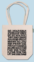 Soul Flower Eco Tote Bag