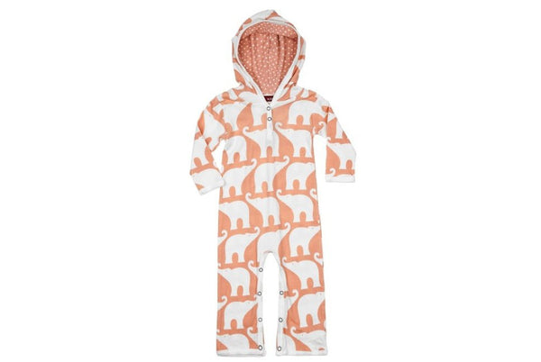 Milkbarn Hooded Romper