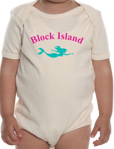 Block Island Mermaid Onesie