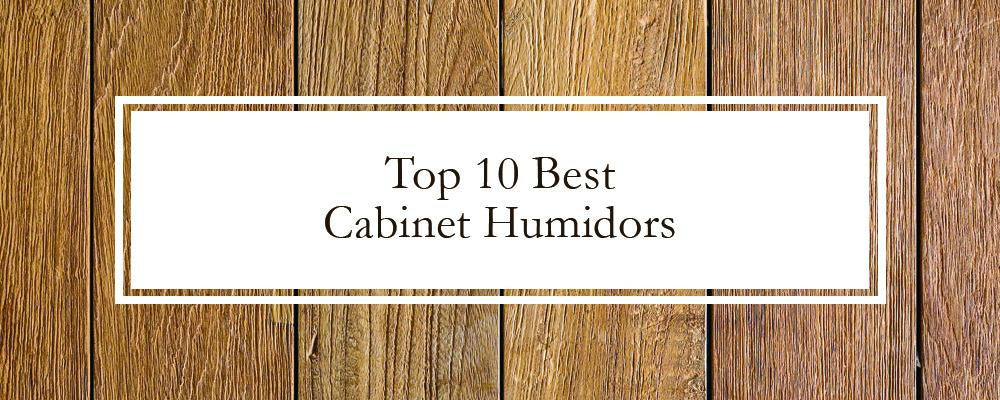 Top 10 Best Cabinet Humidors - Buyer's Guide & Reviews