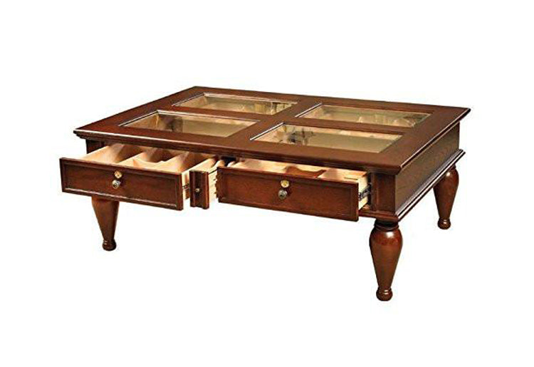 Quality Importers Coffee Table Humidor