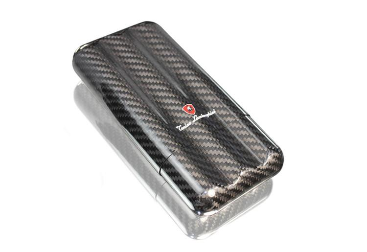 Tonino Lamborghini Matrix 3 Finger Carbon Fiber Cigar Case