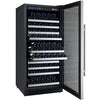 Image of Allavino 128 Bottle Single Zone Stainless Steel Right Hinge Wine Refrigerator